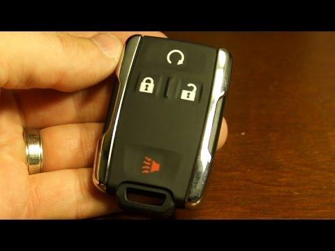 2016 Chevy Silverado key fob battery replacement
