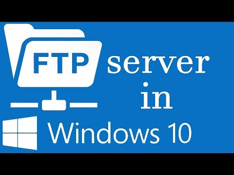 How to Setup and Manage FTP Server in Windows 10 without any Software