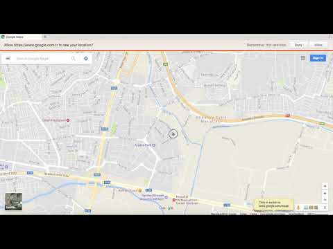 How to Get Coordinates of A Certain Location in Google Maps