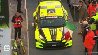Rally di Monza, inizia lo show a quattro ruote di Valentino Rossi