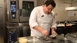 Ricetta pasta fresca: le fettucce polpo e fagioli di Gennaro Esposito