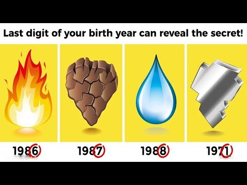 The Last Digit Of Your Birth Year Can Reveal The Secret Of Your Life