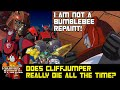 Does Cliffjumper always die all the time?