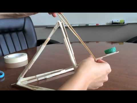 How to Make a Pyramid Catapult