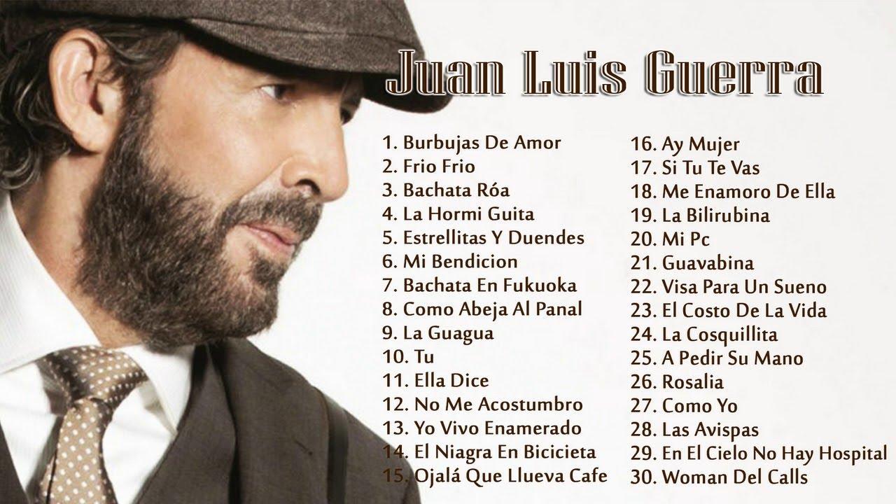 Juan Luis Guerra EXITOS, EXITOS, EXITOS Sus Mejores Canciones - Juan Luis Guerra Mix Nuevo 2018