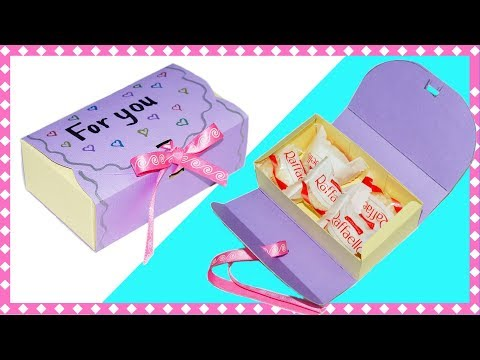Easy DIY crafts   How to make a gift box   DIY gift box