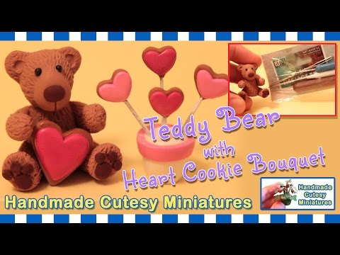 POLYMER CLAY TOOLS FOR TEXTURING: TEDDY BEAR, COOKIE BOUQUET, VALENTINES, MINIATURE
