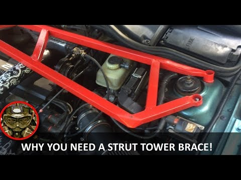 How to Stiffen a Chassis With a Strut Bar