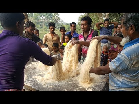 Transformation Of Wheat Flour & Sugar - Amazing Way of Making Huge Traditional Sweet Item For Kids