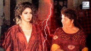 When Sridevi Fought With Choreographer Saroj Khan