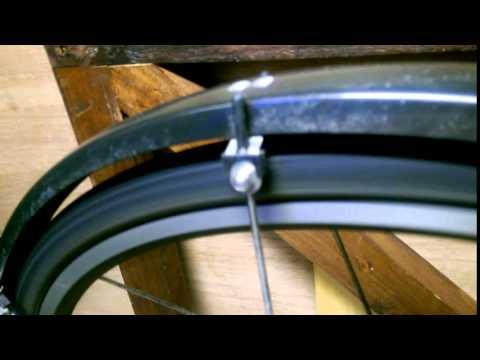 Bike Wheel Flat Spot