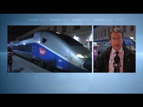 Un TGV Nice-Paris bloqué 9 heures près Marseille