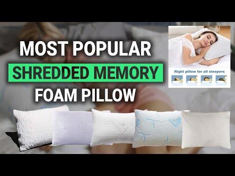 Most Popular Shredded Memory Foam Pillow in 2018