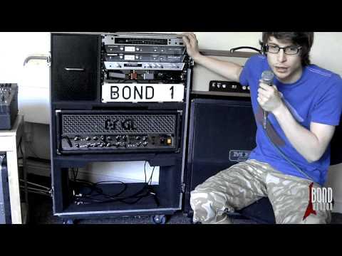 Castle Cases Live In Amp Flight Case Demo - David Bond
