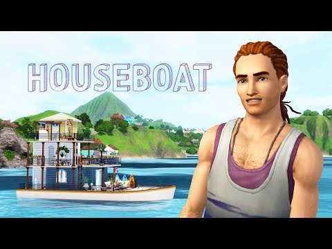 Sims 3 | Let's Build a Houseboat