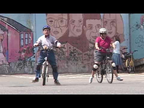 Adult Learning at the Bicycle Riding School in Somerville MA