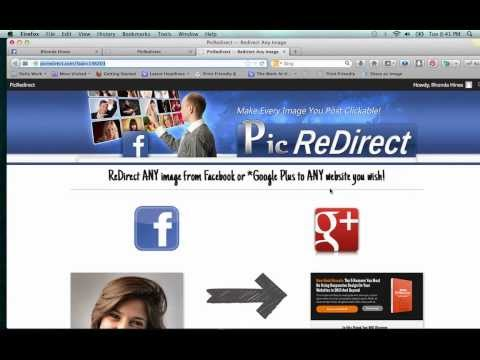 How To Make Facebook Images Clickable & Redirect
