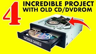 4 INCREDIBLE project with old CD/DVDrom