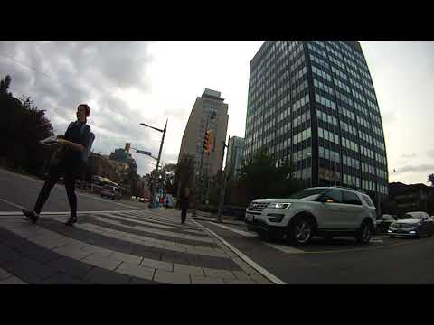 Toronto Bike Commute - August 2017