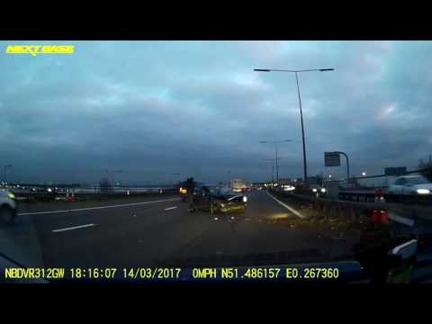 M25 Thurrock Crash