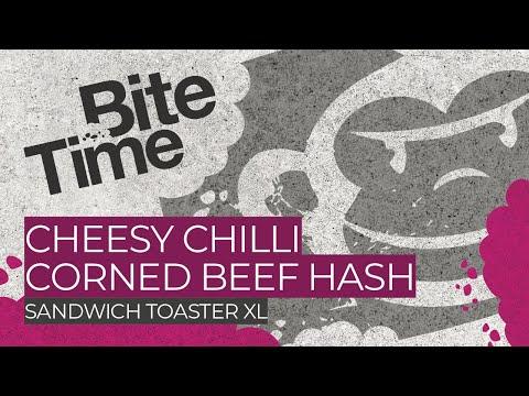 Cheesy Chilli Corned Beef Hash in the RidgeMonkey XL