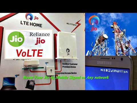 How To Boost Your Jio 4g Mobile Signal or Any network