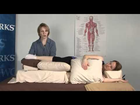 Carole Osborne: Tips on how to position clients using the Side Lying Positioning System by Oakworks