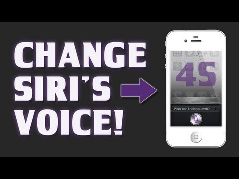 How to Use Siri iPhone 5 / 4S - How to Change Siri's Voice or Accent / Language - Tutorial