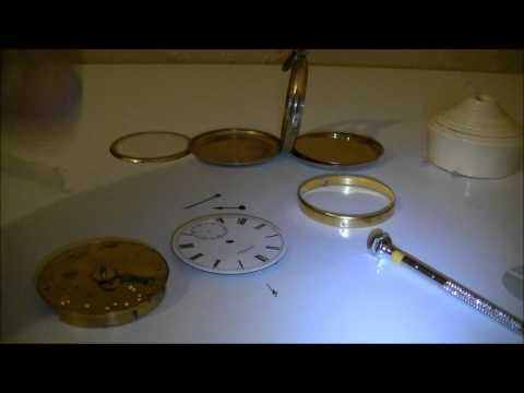 How to remove dial from Waltham Pocket Watch? Dismantle Video Part 2