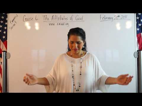 EMOAF S.O.M Back To Basics | Theology Exegesis Two Course 6: The Attributes of God