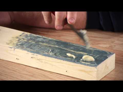 Removing Paint From Wood : Woodwork & Carpentry