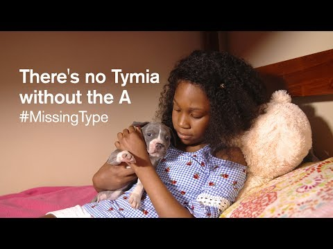 There's no Tymia without the A #MissingType
