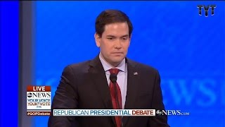 Rubio Repeats Himself 4x In Epic Debate Fiasco