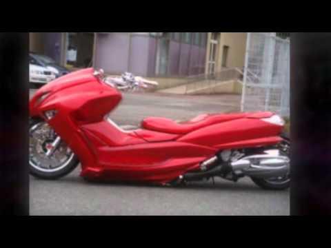 Japan custom maxi scooters