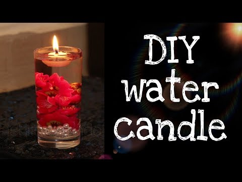 DIY Candle | How to make DIY Water Candle at home ( Under $1)