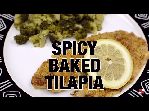 Spicy Baked Tilapia - Recipe Rack