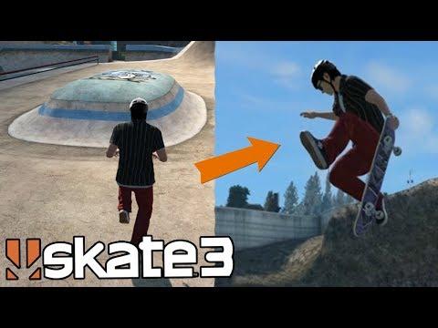 Skate 3: Hitting the MEGA PARK GLITCH Online!? (Multiplayer Spot Battles)