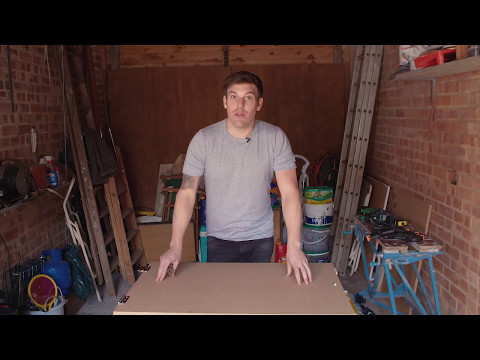 How to - make a table that is also a picture frame