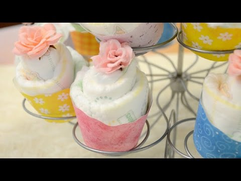 How to Make Diaper Cupcakes - Sprinkle Some Fun Facebook Live 4/27/16