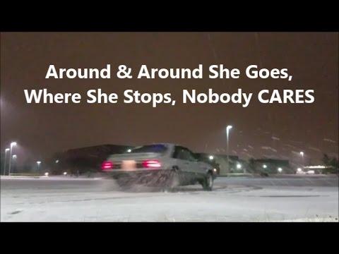 Rear Wheel Drive Car -VS- Winter & Snowy Conditions - Rotstang