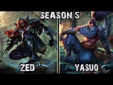 Apdo - Zed vs Yasuo Mid Ranked Challenger Korea