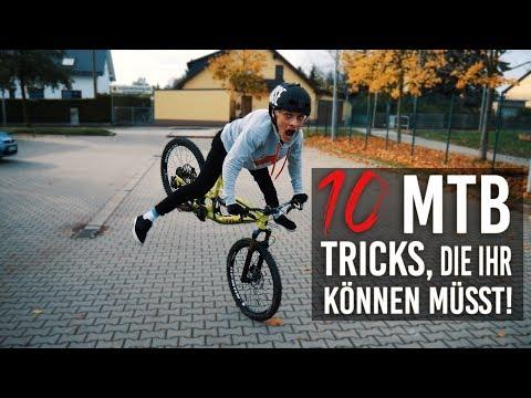 10 MTB TRICKS, DIE IHR KÖNNEN MÜSST!