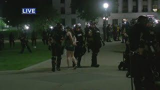 Protesters Arrested Outside State Capitol