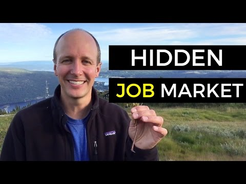 Hidden Job Market - How To Find A Job Without Any Competition