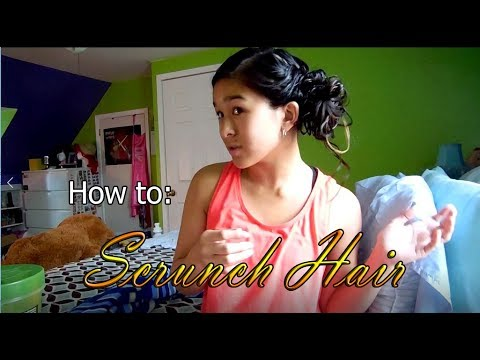 ~!*How To: Scrunch Hair (with Long Straight hair!)*!~