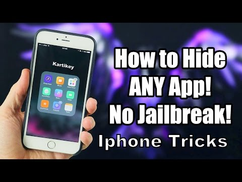 Hide Any App On Iphone | NO JAILBREAK!