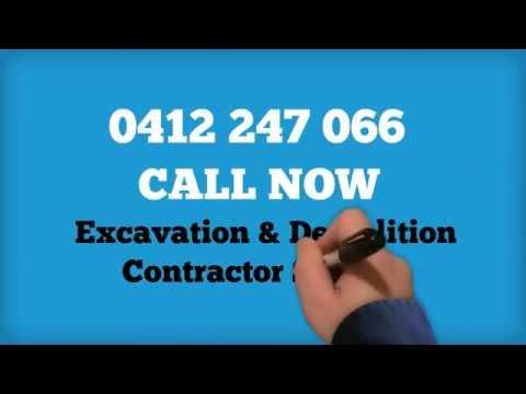 Demolition Excavation Contractor Sydney
