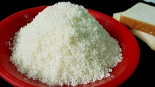 How To Make Perfect Bread Crumbs  || Bread Crumbs without Oven || Homemade Breadcrumbs