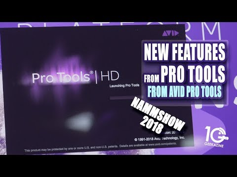 New Features from Avid Pro Tools