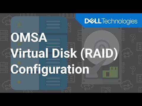 Configuring RAID 5 Virtual Disk using Server Administrator - Dell OMSA